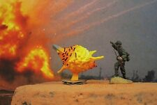 Painted diorama grenade mine bombe incendie explosion bataille guerre figure modèle 72_AD2