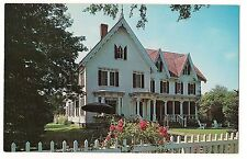 1962 SEVEN GABLES Prof William Lyon Phelps Huron City MICHIGAN MI POSTCARD