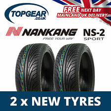 185/35//17 Nankang NS2 XL Tyres x2 (Pair of) 1853517 82V- x2 New Tyres