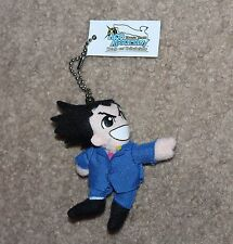 Ace Attorney Phoenix Wright Plush keychain Preorder Bonus Promo Official Trials