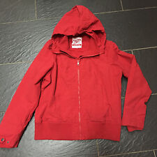 NEXT SPORTS RED HOODED JACKET SIZE 20