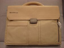 MANDARINA DUCK JOINER BRIEFCASE SHOULDER BAG BEIGE COLOR with LAPTOP CASE - NEW