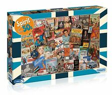 GIBSONS SPIRIT OF THE 50s 1000 PIECE FIFTIES NOSTALGIA JIGSAW PUZZLE NEW G7081