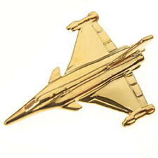 Rafale Tie Pin 22 Carat Gold Plated Tiepin Badge - NEW