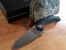 "Kizer 8.5"" Tigon Linerlock Folding Knife Pocket S35VN Tactical Black G10 4450a1"