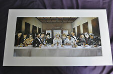 renato casaro art picture print poster the invitation movie stars dinner party