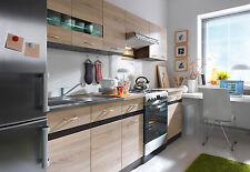 Brand New Complete JUNONA Kitchen Set 7 Units - Sonoma Oak textured wood finish