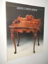 catalogo asta Finarte 757- Arredi e dipinti antichi
