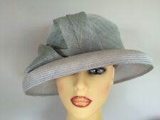 Ladies Occasion Formal Wedding Races Mother Bride Hat Pale Blue Whiteley