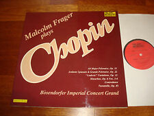 Audiophile MALCOLM FRAGER PLAYS CHOPIN BÖSENDORFER GRAND TELARC DIGITAL LP 10040