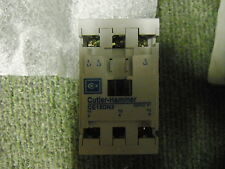 Eaton Cutler-Hammer CE15DN3AB77 SizeD AC3 7.5Kw 380/440V 110V Coil 18A Contactor