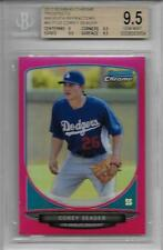 2013 Corey Seager Bowman Chrome Magenta Refractor RC- BGS 9.5 Gem Mint... #3/35