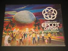 Epcot Center Pictorial Souvenir 1982 first year guide Walt Disney World