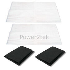 2 x Erres Cooker Hood Extractor Vent Grease & Charcoal Filters Saturation Indica