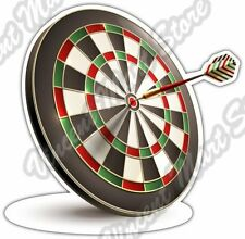 "Darts Dart Target Dartboard Pub Game Car Bumper Window Vinyl Sticker Decal 4""X5"""
