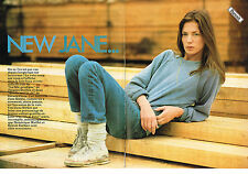 PUBLICTE  1981   JANE  BIRKIN   (3 pages)  NEW JANE