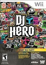 DJ Hero (Nintendo Wii, 2009) ~ BRAND NEW & SEALED