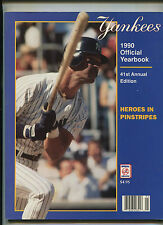 New York Yankees 1990  Official Yearbook  41st Annual Edition  MBX21