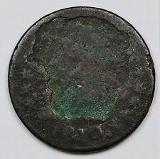 1810 Half Cent. Error. Huge Planchet error. Coin struck in Obverse.  107925