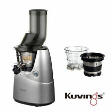 Kuvings Whole Slow Juicer B6000S Silber inkl. Eiscreme & Smoothies Set 60U/min