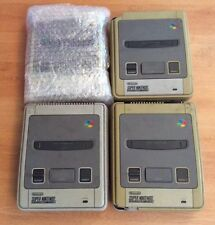 4 x Super Nintendo Snes Video Games Consoles Units Only Faulty Spares Or Repairs
