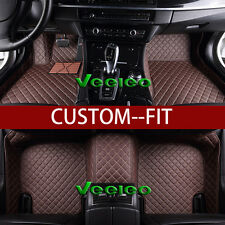 8 Colors Leather Floor Mats for BMW X5 E70 2007-2013- 5 Seats Waterproof Carpets