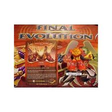 GORMITI FINAL EVOLUTION POPOLO LAVA LAVOR +CARD *NatToys*