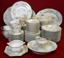 HAVILAND china NEW York ROSAMONDE pattern 91-piece SET SERVICE for Twelve (12)