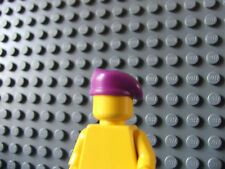 LEGO Minifigure Soldier Purple Special Forces Beret Mini figure Custom Part