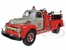 1951 FORD F-SERIES PUMPER TRACTOR PLANT PROTECTION 1/34 MODEL FIRST GEAR 19-3980
