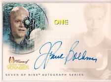 Star Trek Women Of Voyager HoloFEX Autograph Card SA7 J. Paul Boehmer One