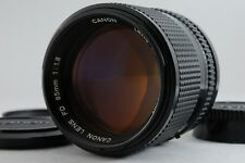 [Excellent+++++] Canon New FD 85mm F/1.8 MF Lens From Japan #03004