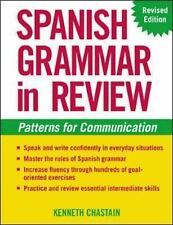 Spanish Grammar in Review-ExLibrary