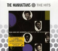Best Of-Kiss & Say Goodbye - Manhattans (1995, CD NIEUW)