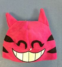 Kamikaze Fleece Hat - Childs - Designer Hats Ltd ed -PINK CHESHIRE CAT FACE (009