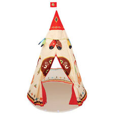 Kids Boys Girls Teepee Indian History Pop-up Play Tent Indoor Outdoor Play Toy