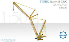 Conrad 2744-04 Terex Bracht 3800 Superlift Crawler Crane 1/50 scale Die-cast MIB