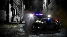 "Dodge Charger Police Car - 42"" x 24"" LARGE WALL POSTER PRINT NEW"