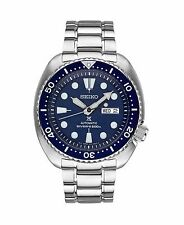 Seiko Mens SRP773 Turtle 45mm Automatic Blue Dial Stainless Watch, SRP777