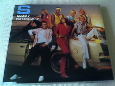 S CLUB 7 - DON'T STOP MOVIN' - 4 TRACK UK CD SINGLE