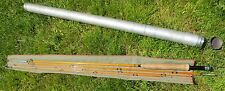 Vintage SOUTH BEND / CROSS Double Built 253 9' Split Bamboo Fly Fishing Pole