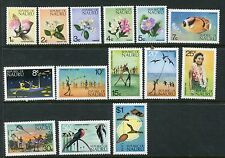 NAURU 1973 Definitives NATURE FLOWERS MNH Set to $1 14 Stamps