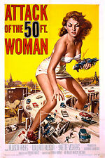 ATTACK OF THE 50 FOOT WOMAN (DVD) SCI-FI 1958