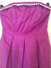 By�� Be Beau �� Size 10 Magenta/Pink  Embellished Evening Cocktail  Party Dress