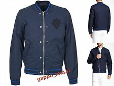 NWT Diesel J-IOWA Mens Varsity Bomber Lightweight Cotton Jacket M MEDIUM $258