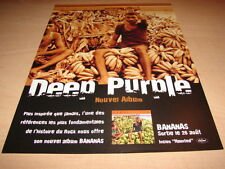 DEEP PURPLE - BANANAS!!!!!!!!!!!!!!! PUBLICITE / ADVERT