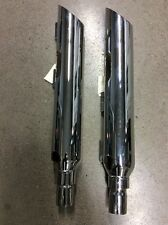HARLEY SOFTAIL 84-4005F FXST FRONT SLASH MUFFLERS EXHAUST DELUXE MODIFIED