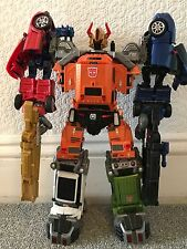 Transformers Toyworld Masterpiece Throttlebot Combiner - 5/6 Figures