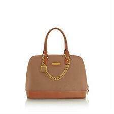NEW JOY & IMAN Genuine Leather Timeless Chic Leading Lady Rich Camel Bag Purse