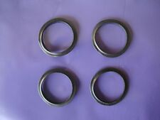 4 x Bath Sink Click Clack Clicker Waste Plug Rubber Washer Centre Fin Seal New